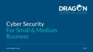 Cyber Security for SMBs